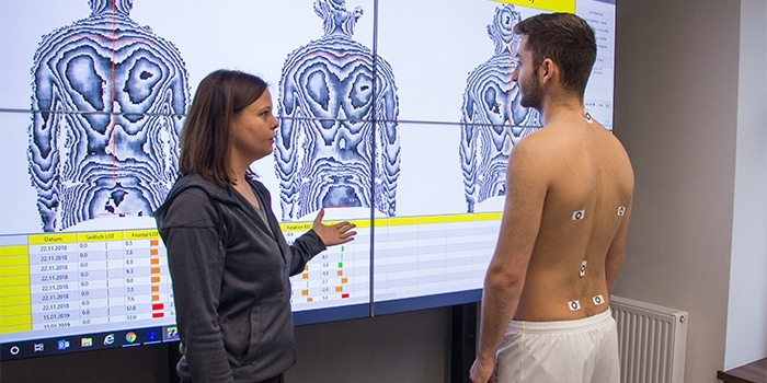 Haltungsanalyse / Rückenscan